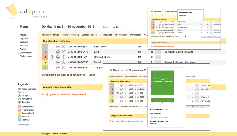 Workflow onder controle: Ad2Print
